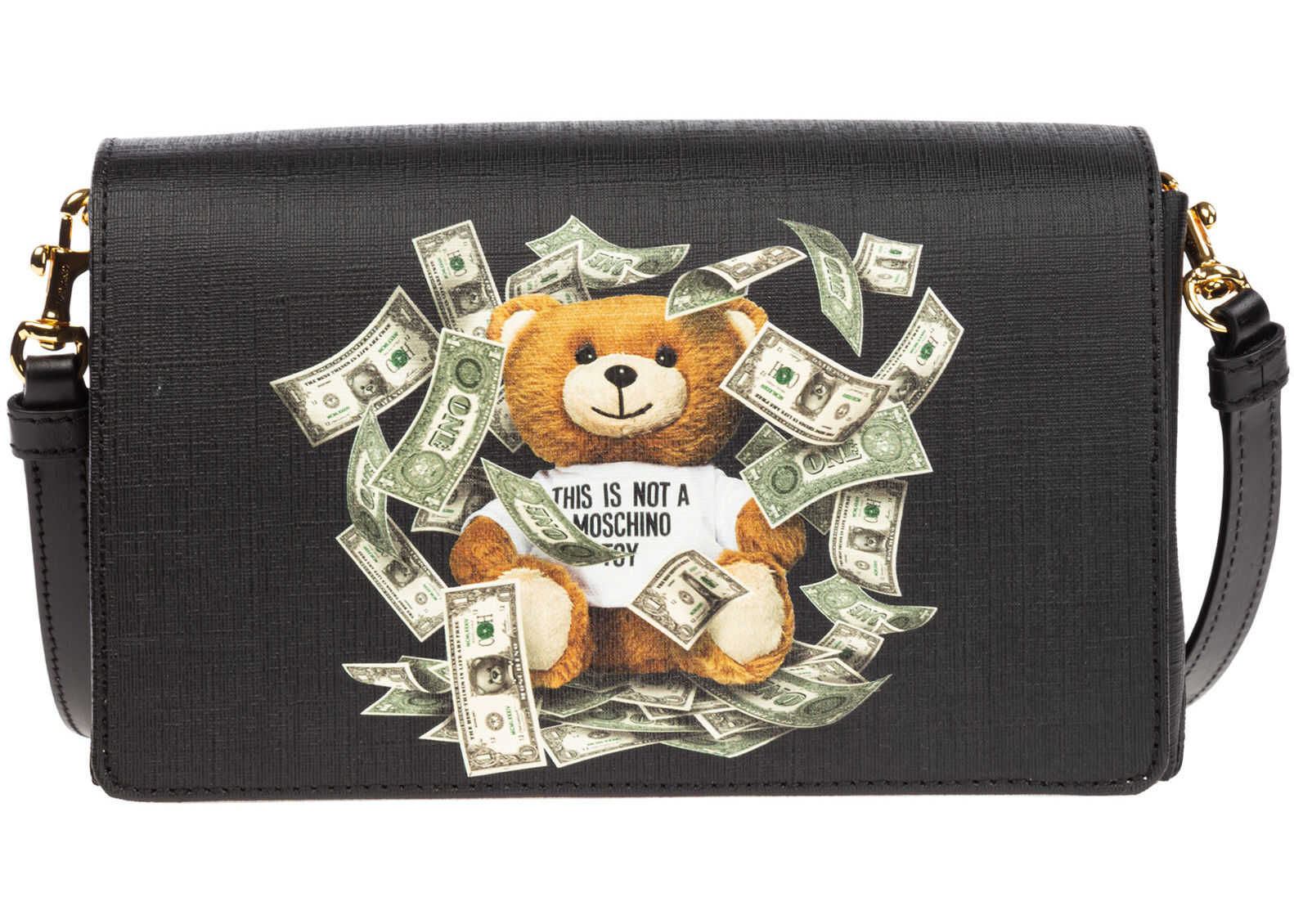 Moschino Teddy Bear Black