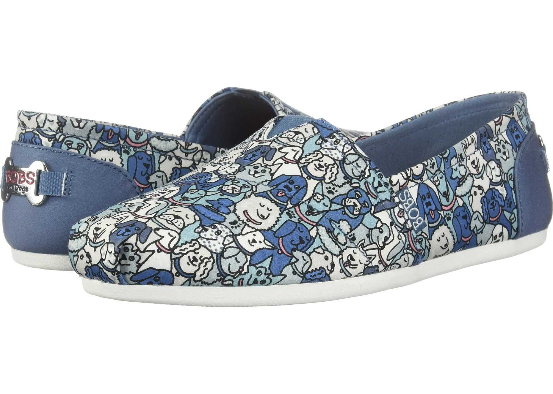BOBS from SKECHERS Bobs Plush - Woof Party Blue Multi