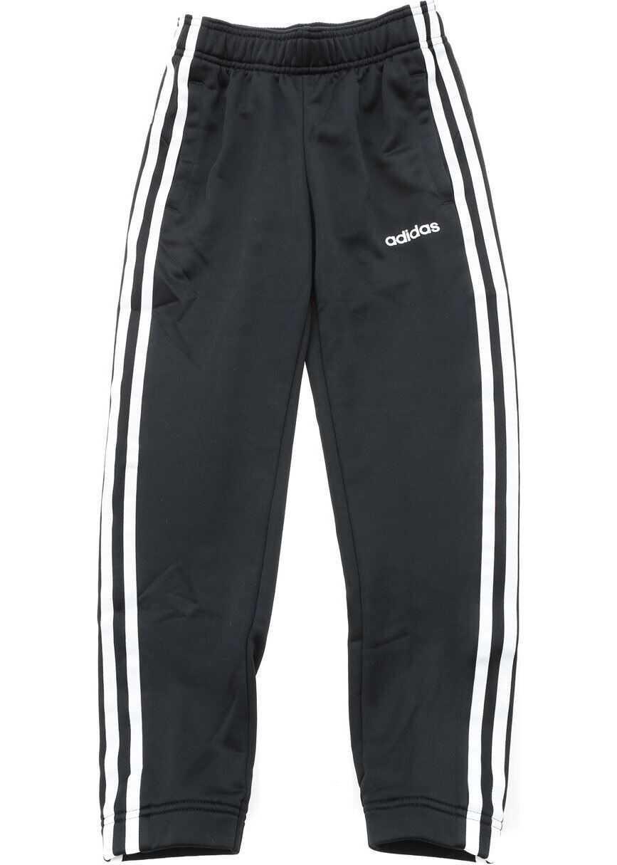 adidas 3-Stripes Pants In Black Black