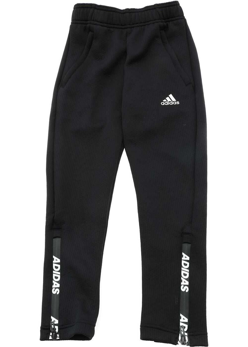 adidas Climawarm Tapered Pants In Black Black
