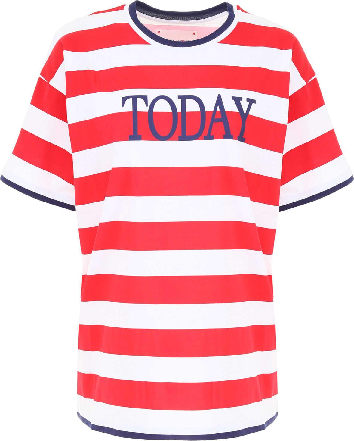 Alberta Ferretti Today T-Shirt WHT RED