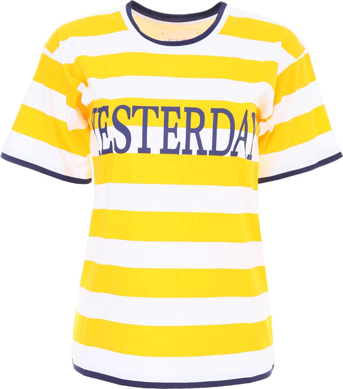 Alberta Ferretti Yesterday T-Shirt WHT YELLOW