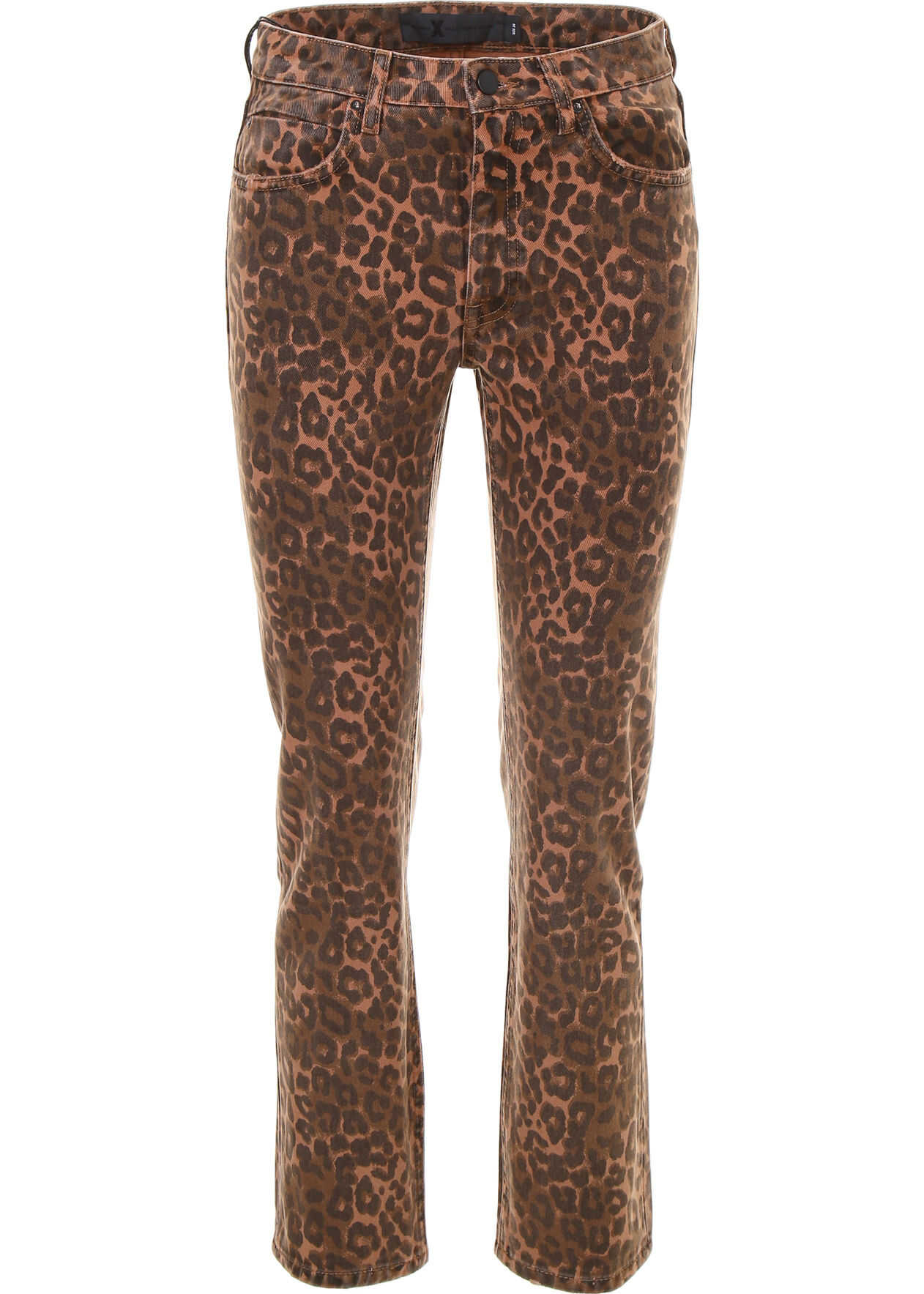 Leopard Printed Jeans