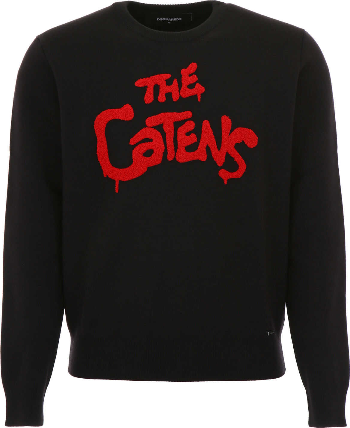 DSQUARED2 The Catens Pull BLACK RED