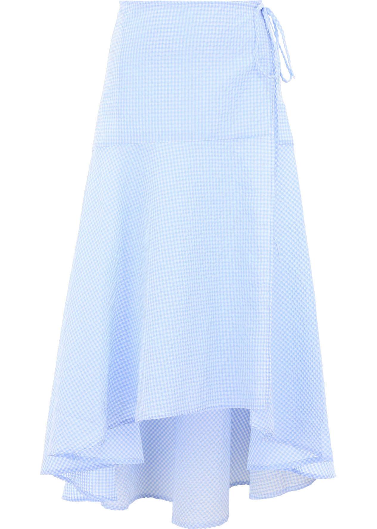 Ganni Charron Skirt SERENITY BLUE