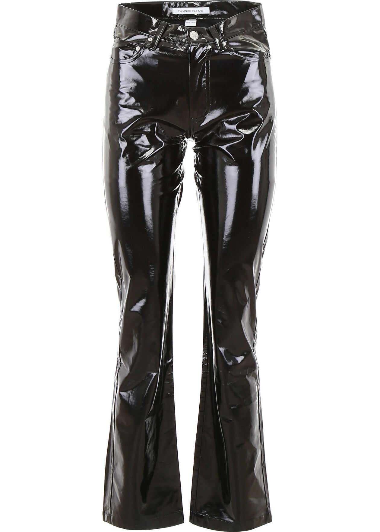 Calvin Klein Jeans Vinyl Trousers CK BLACK