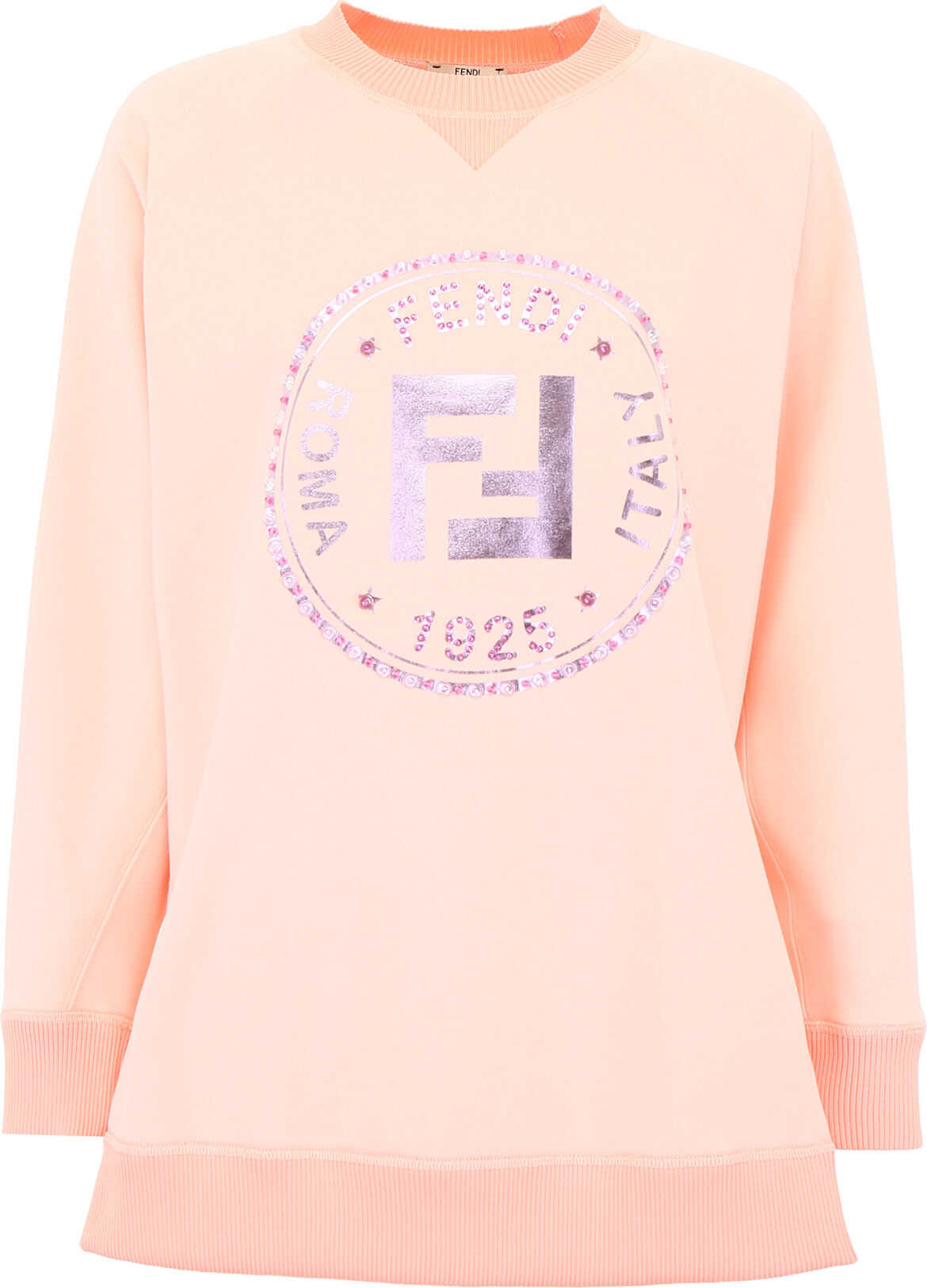 Fendi Stamp Sweatshirt CHEESECAKE