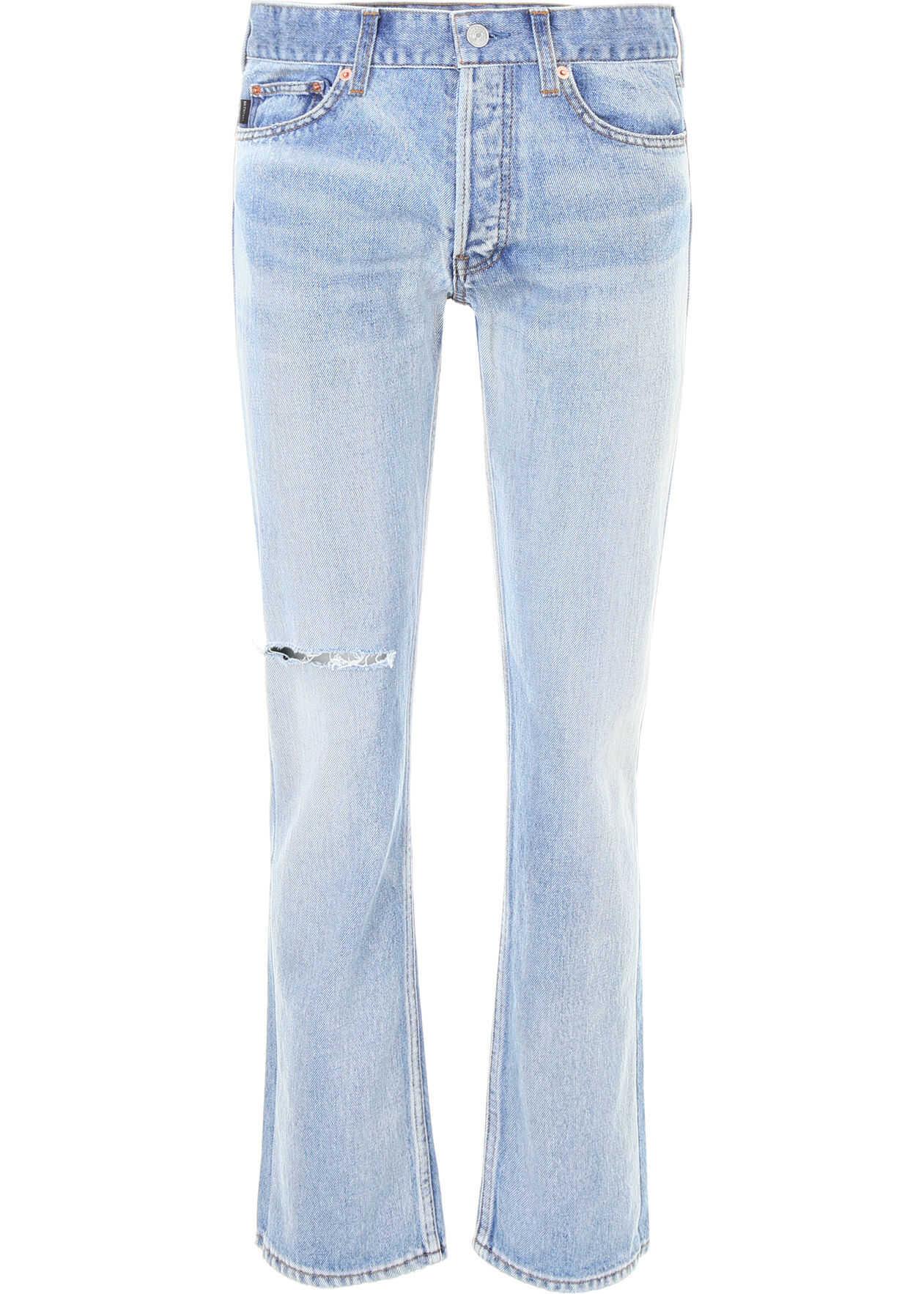 Balenciaga Destroyed Jeans DIRT SMOK L BLU