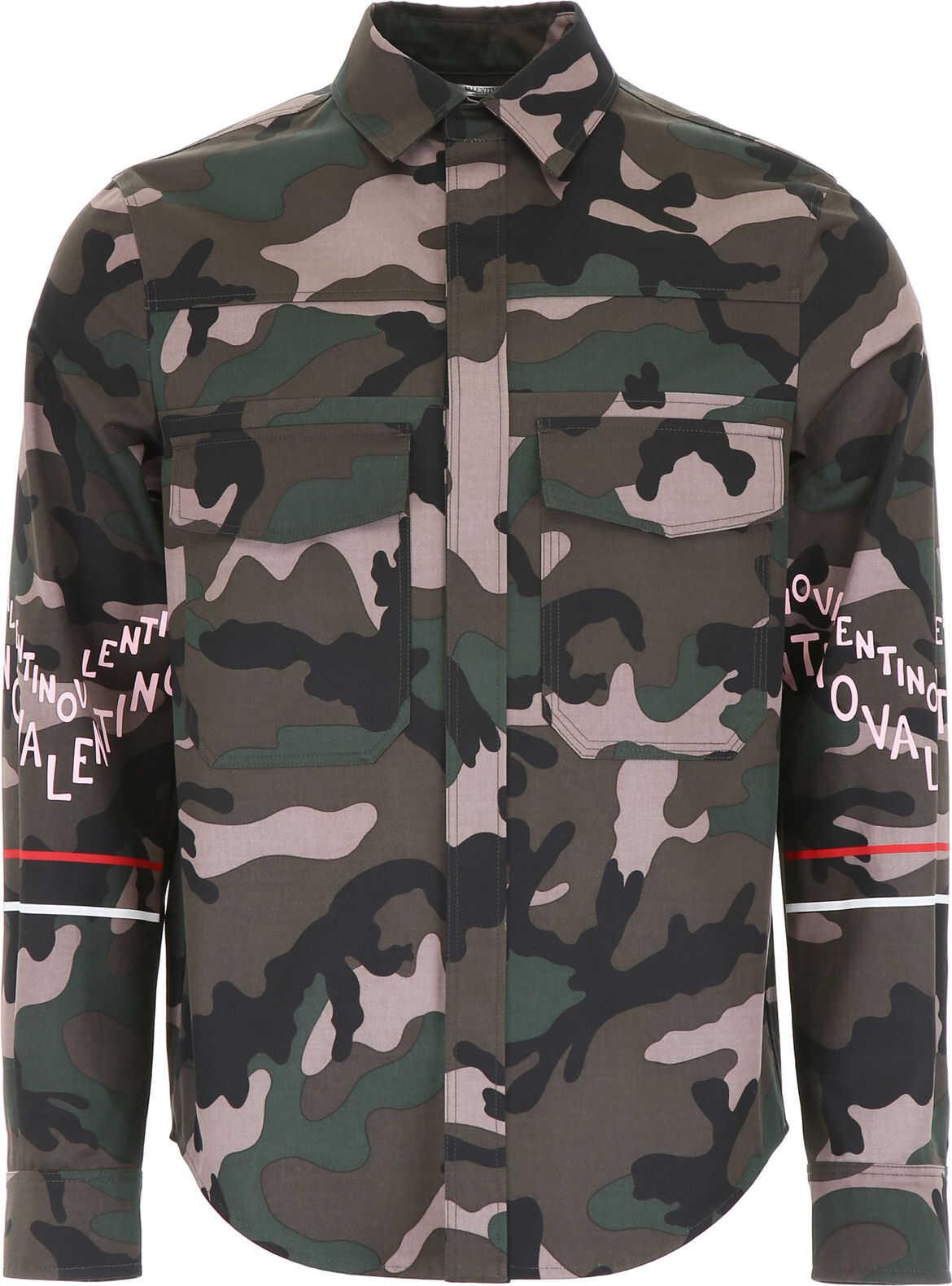 Logo Camouflage Jacket thumbnail