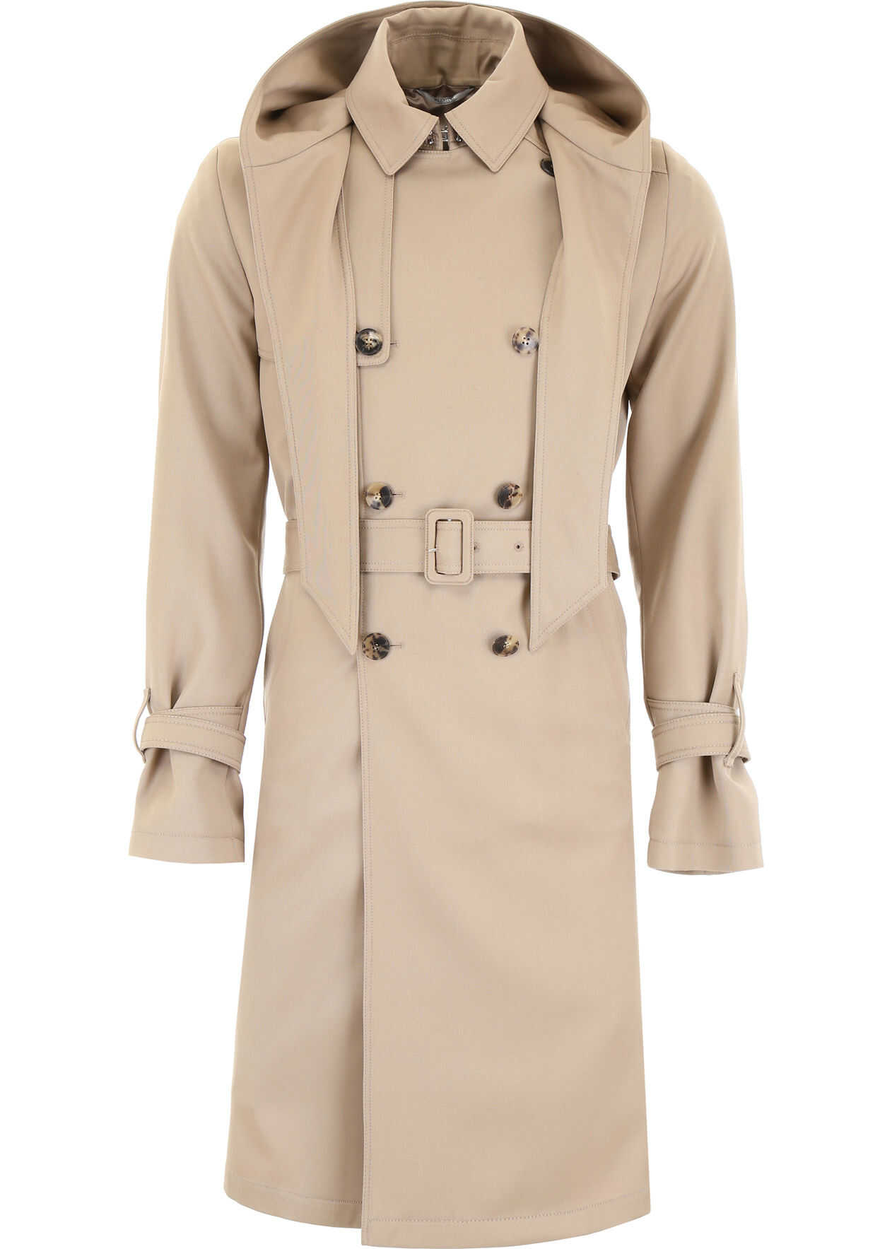 Valentino Garavani Wool Coat ICED COFFE