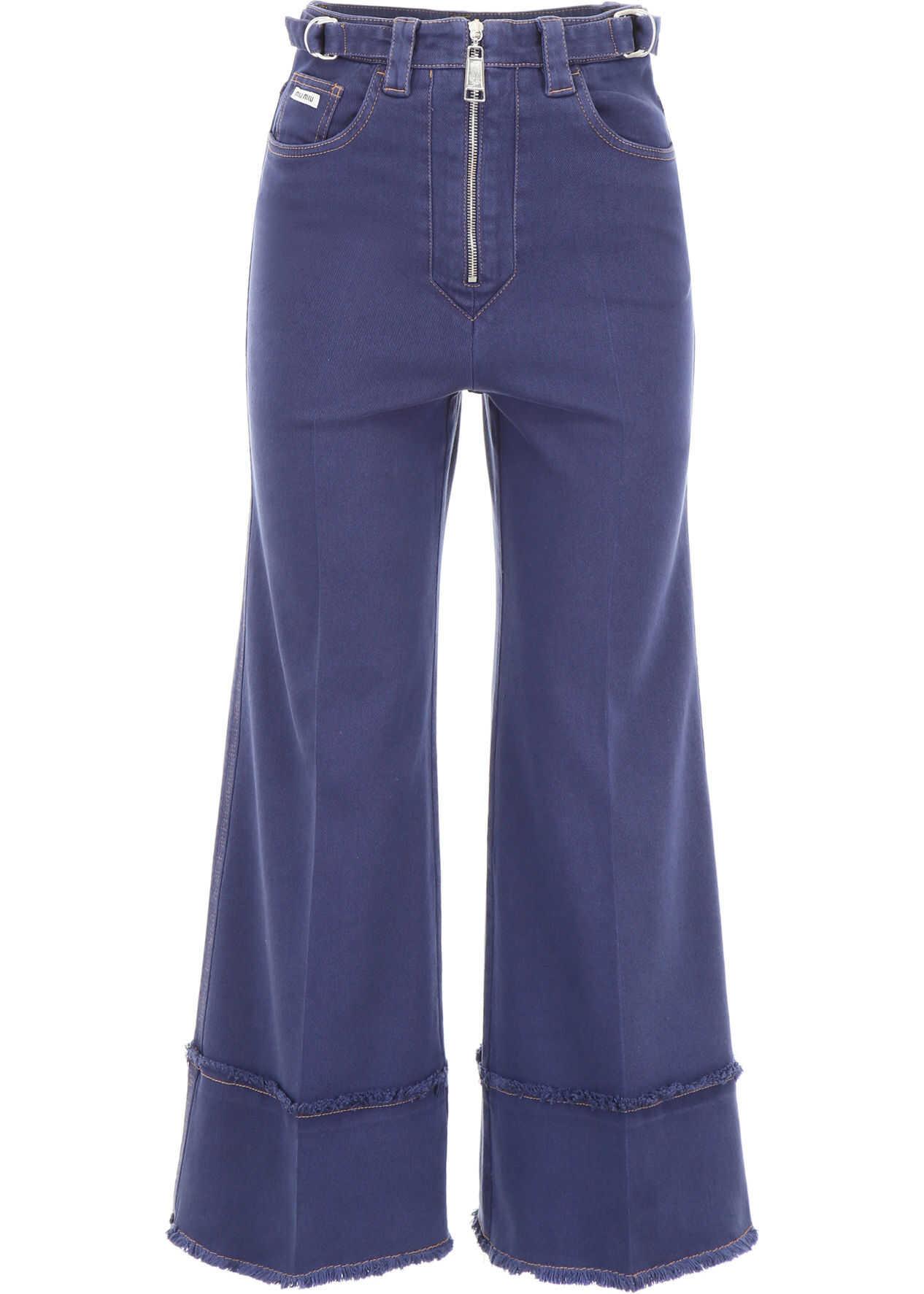 Miu Miu Oversized Jeans BALTICO