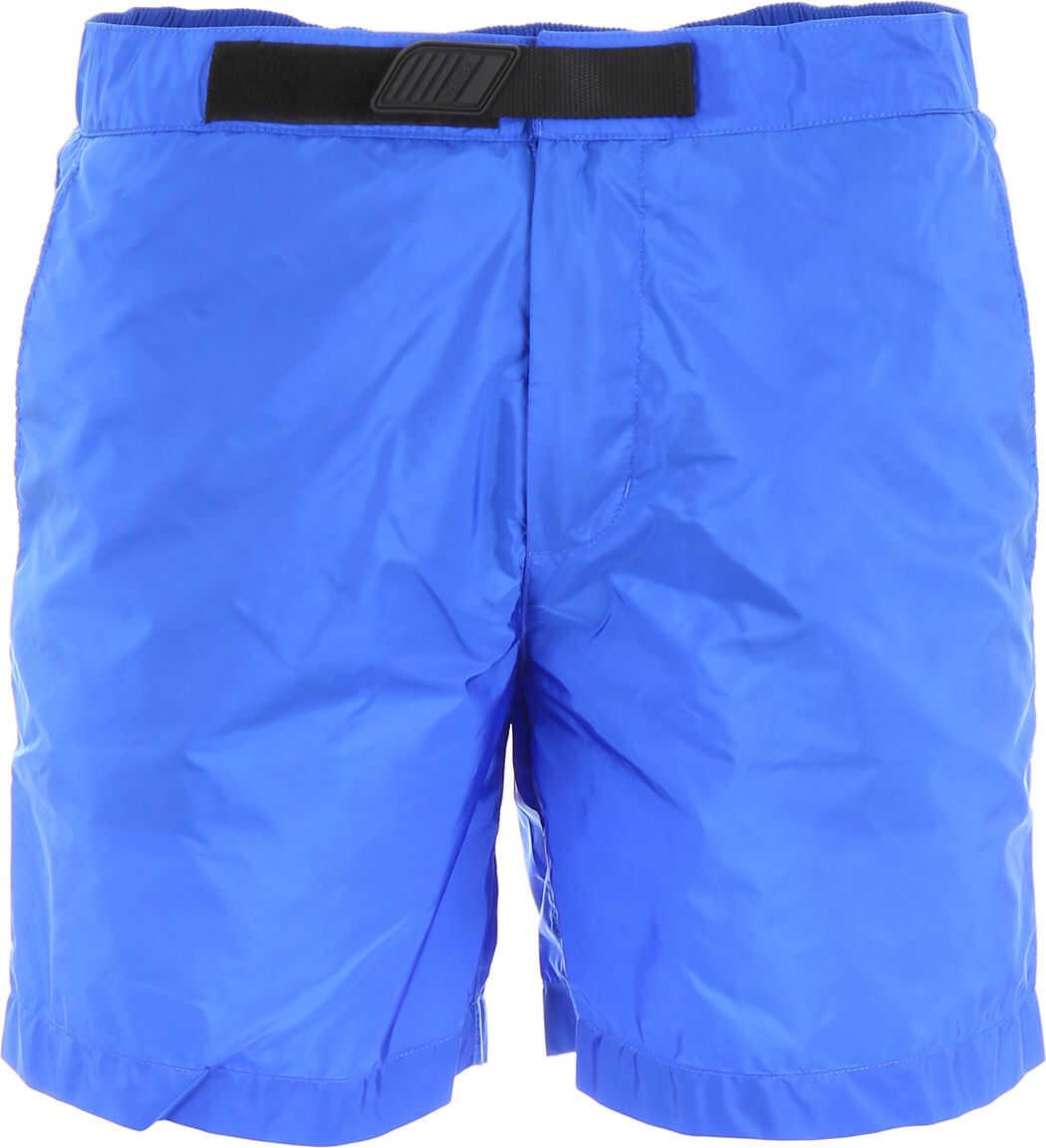 Prada Nylon Swim Shorts BLUETTE