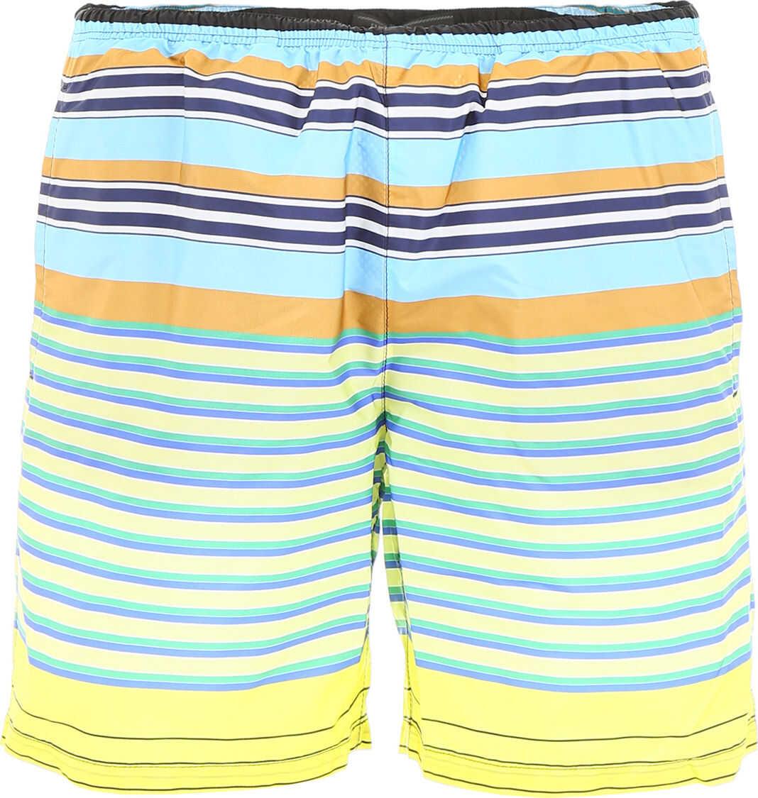 Striped Nylon Swim Shorts thumbnail