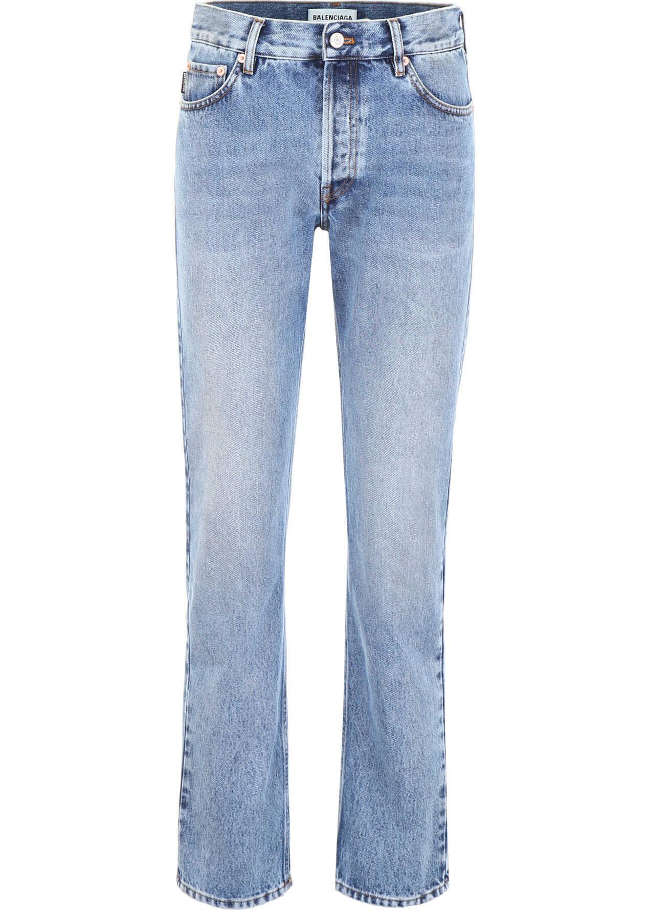 Balenciaga Ripped Jeans LIGHT BLUE