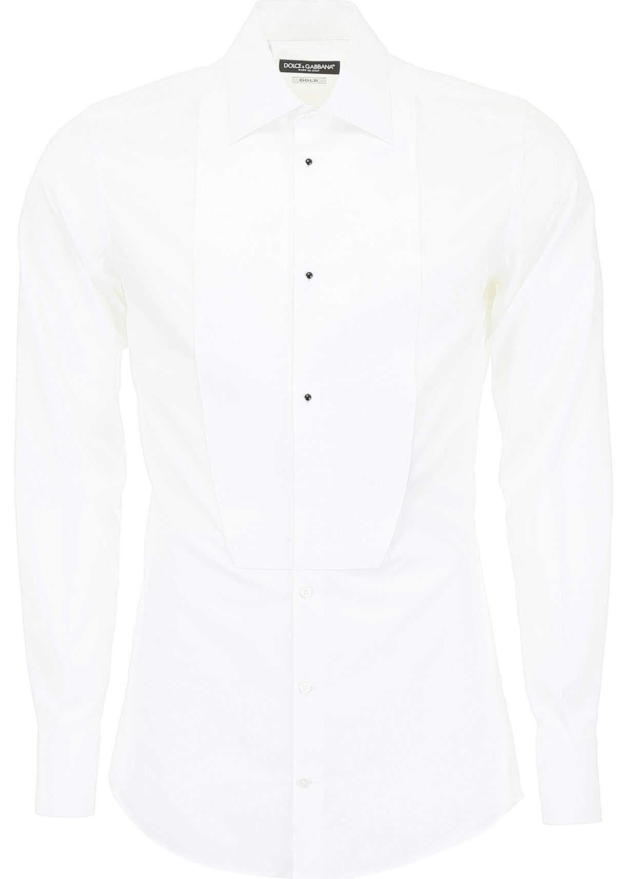 Dolce & Gabbana Tuxedo Shirt BIANCO OTTICO