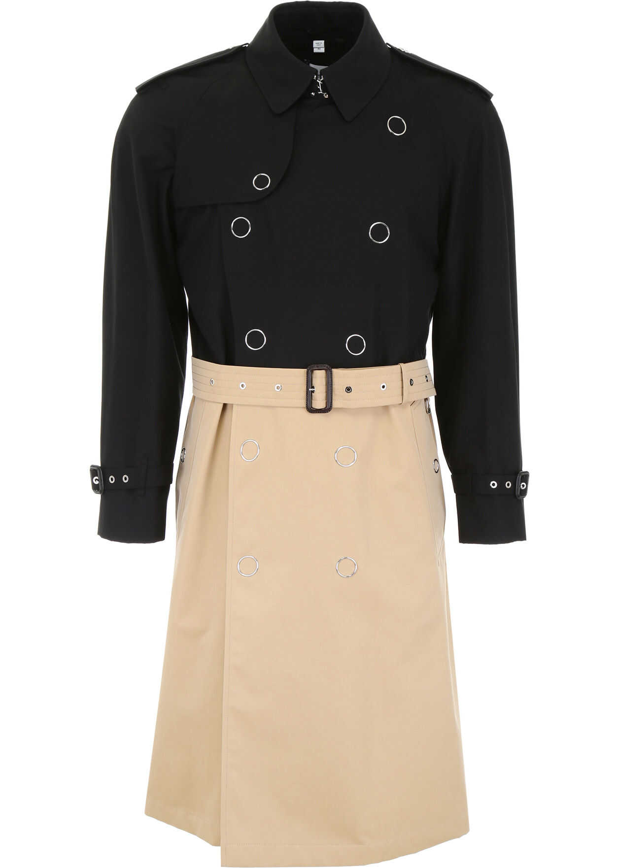 Bicolor Trench Coat thumbnail