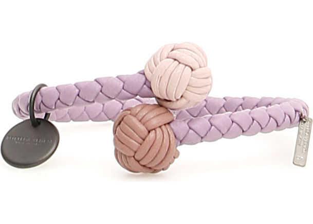 Bottega Veneta Unisex Tricolor Cuff WISTER DECO ROSE