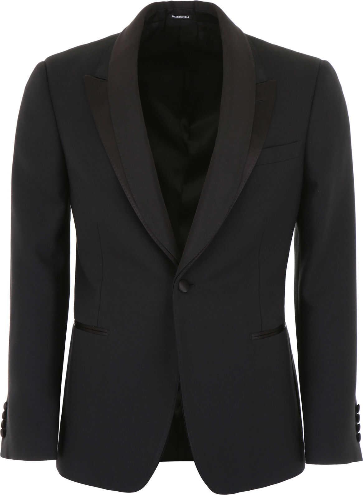 Alexander McQueen Tuxedo Jacket BLACK