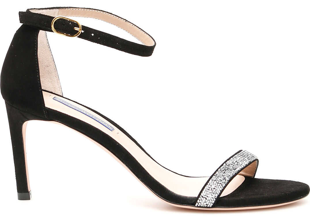 Stuart Weitzman Nunakedstraight Sandals BLACK