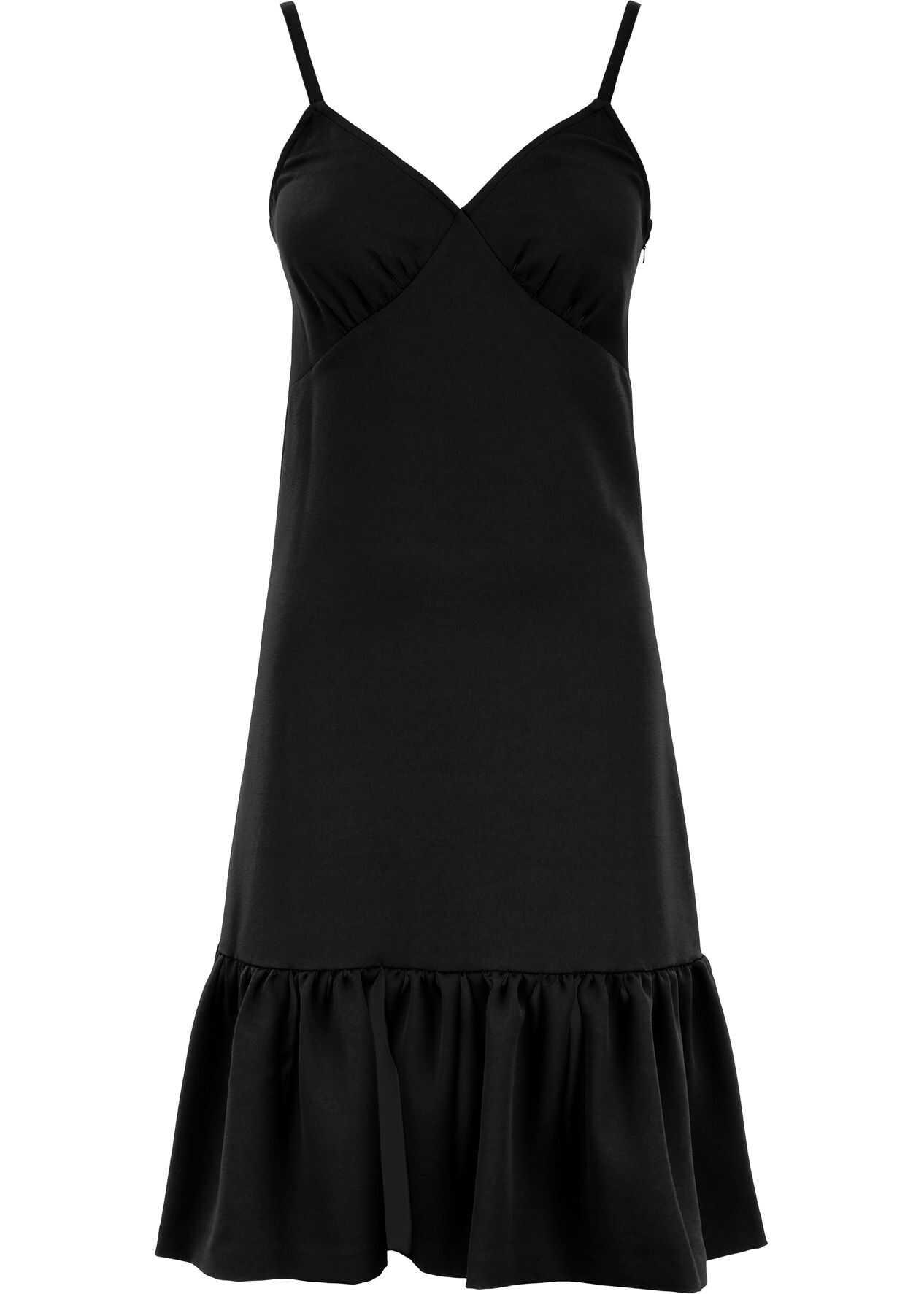 Michael Kors Ruffled Dress BLACK