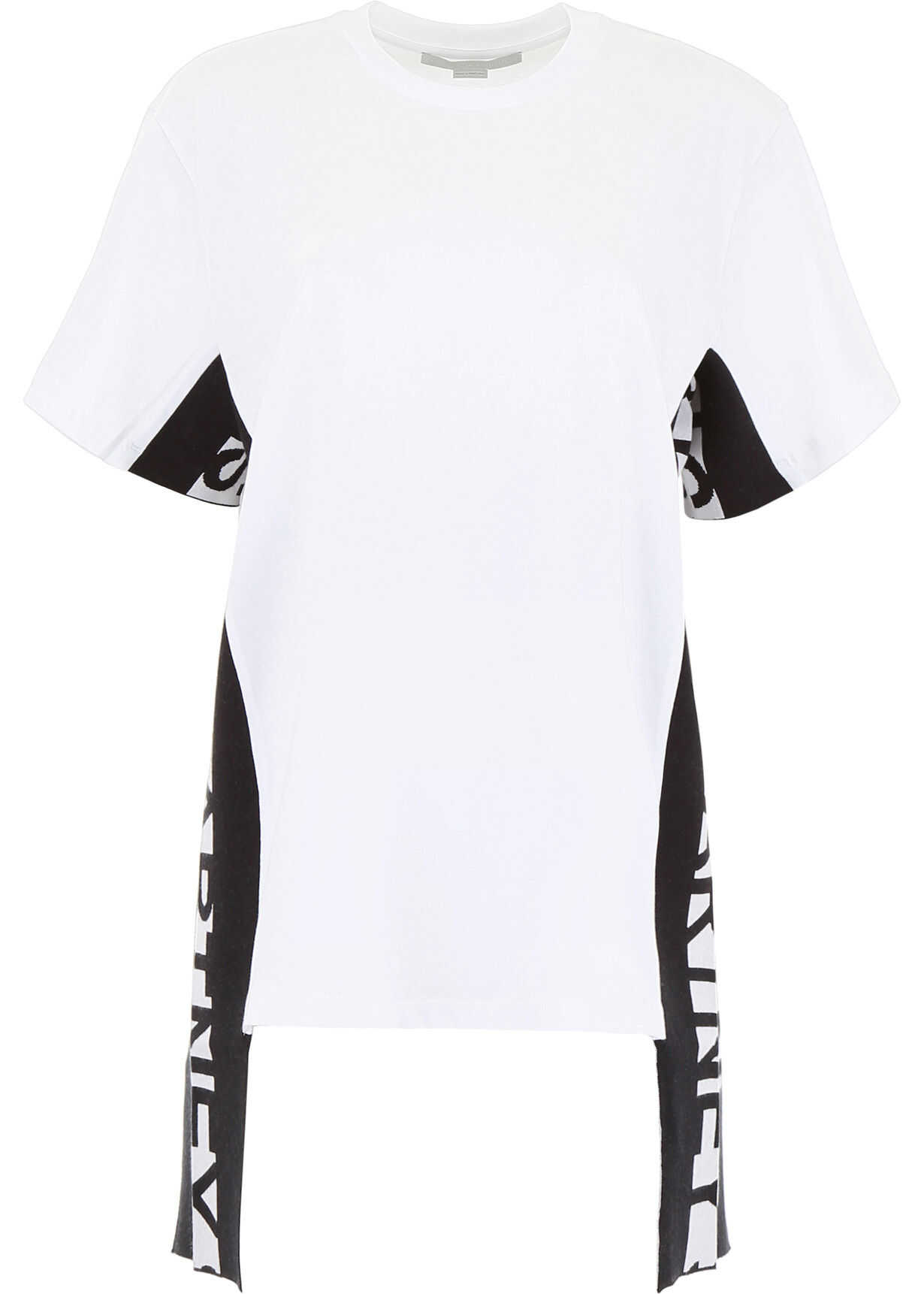adidas by Stella McCartney T-Shirt With Logo Bands PURE WHITE
