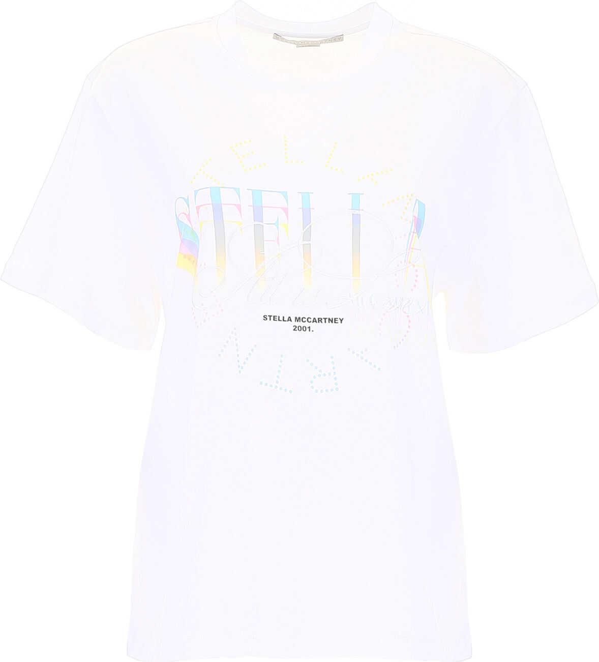 adidas by Stella McCartney Logo T-Shirt PURE WHITE