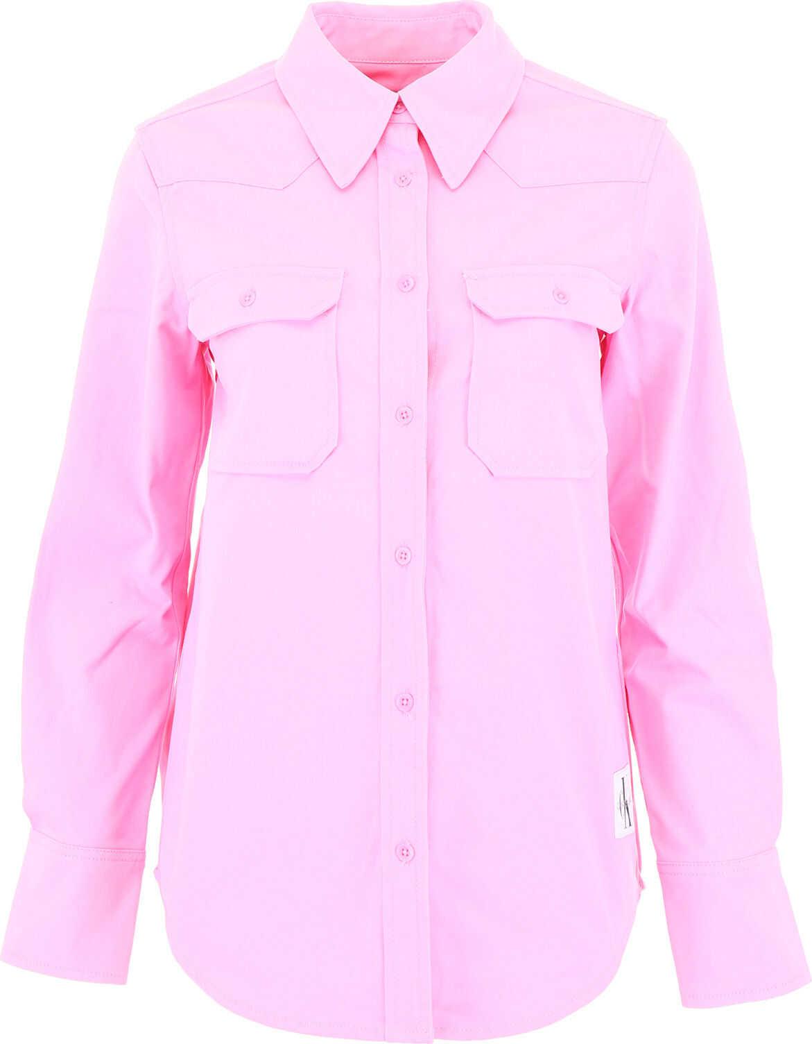 Calvin Klein Jeans Twill Shirt PINK BABY
