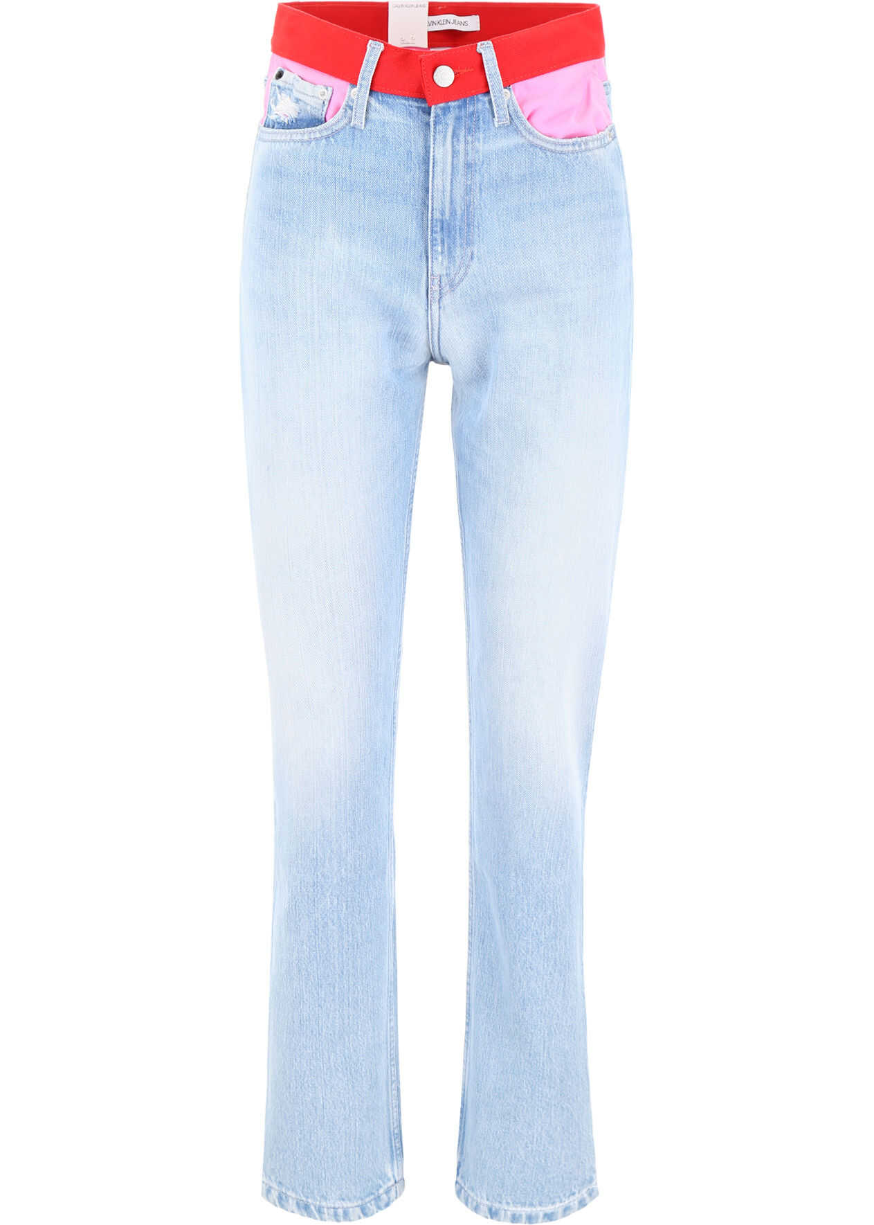 Calvin Klein Jeans Ckj 030 Jeans LIGHT BLUE PINK RED
