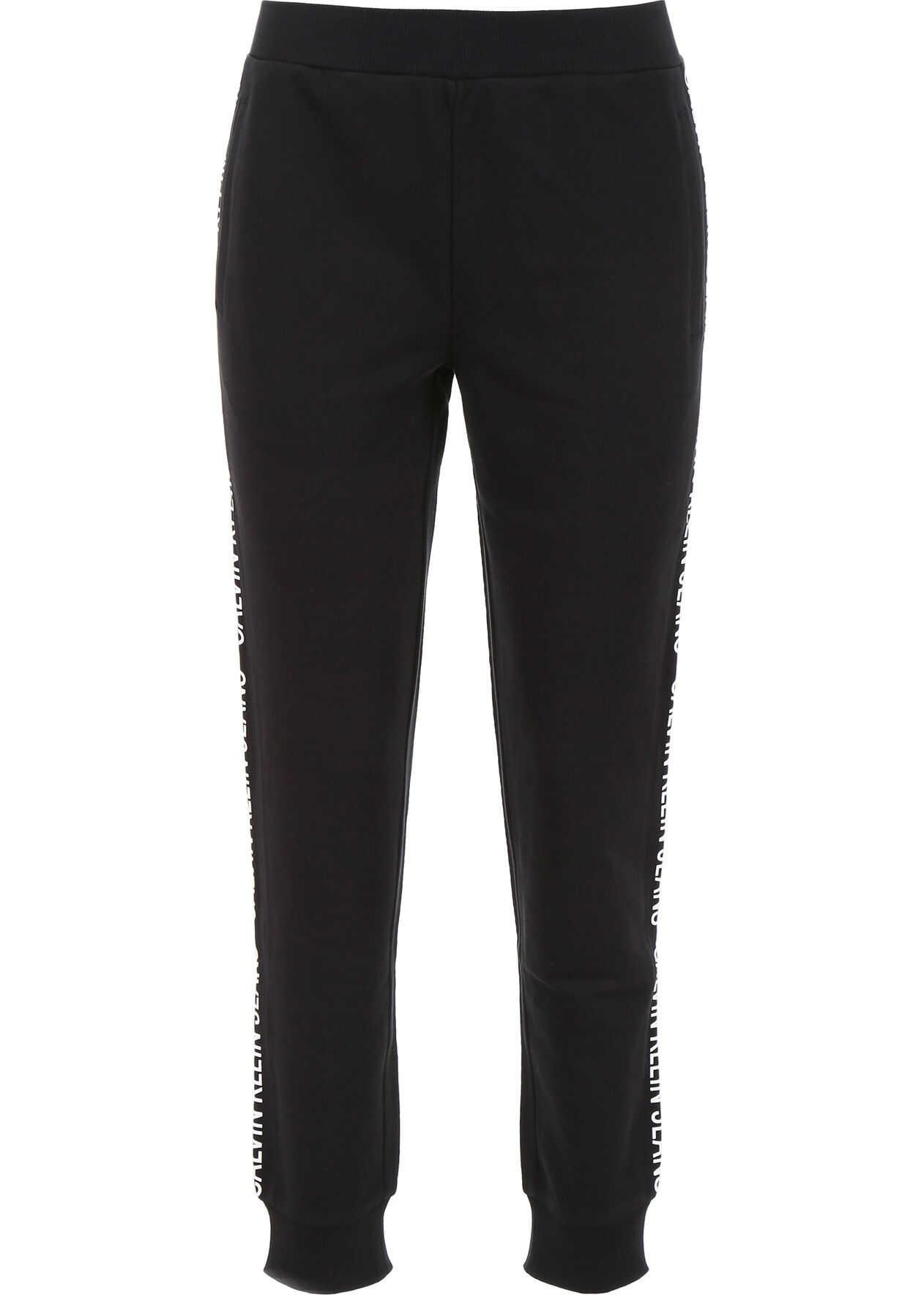 Calvin Klein Jeans Logo Joggers BLACK