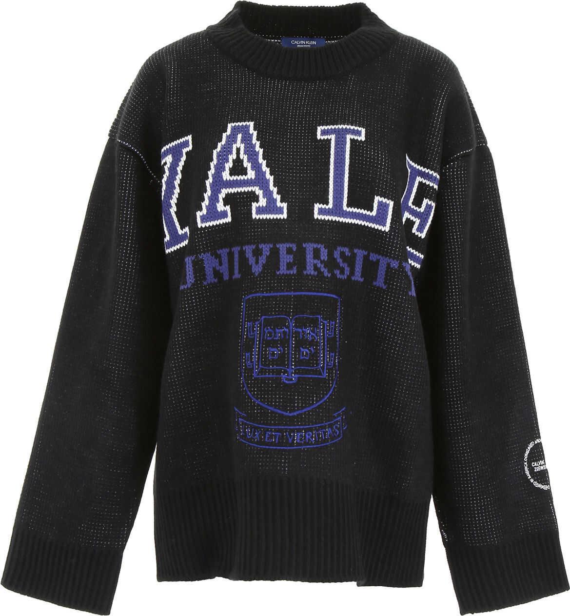 Calvin Klein 205W39NYC Oversize University Pullover BLACK