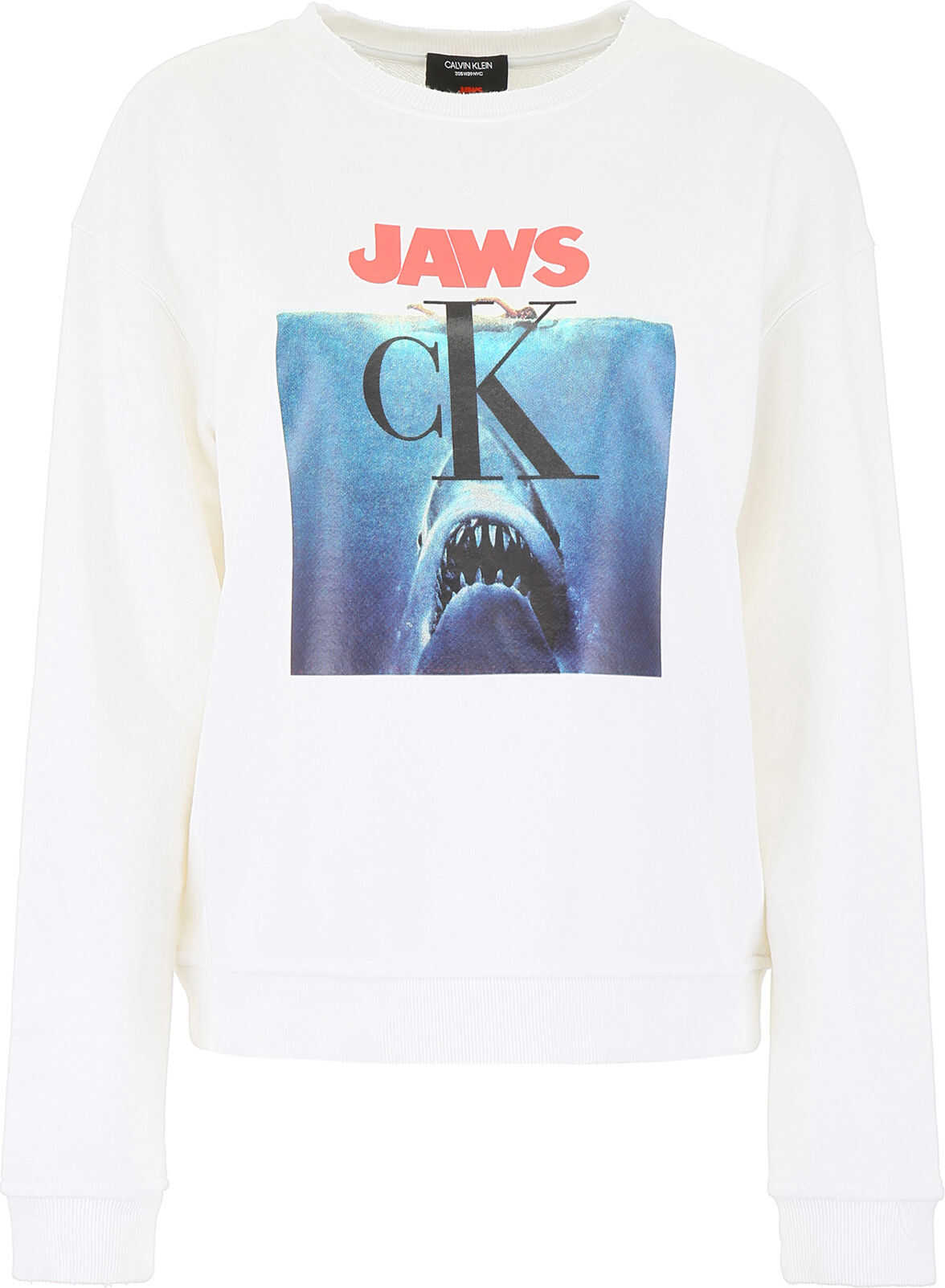 Calvin Klein 205W39NYC Jaws Sweatshirt WHITE
