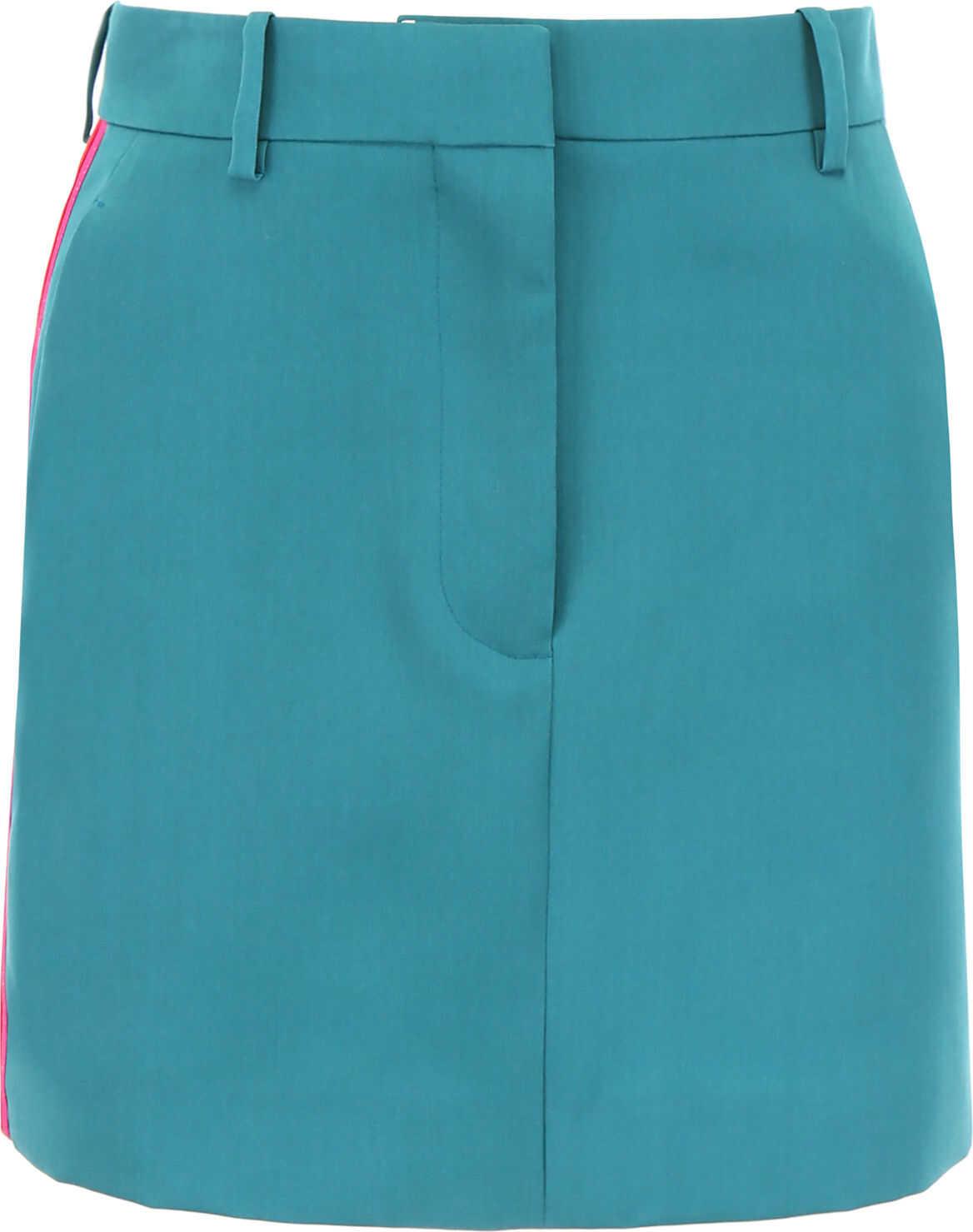 Calvin Klein 205W39NYC Mini Skirt MANGROVE