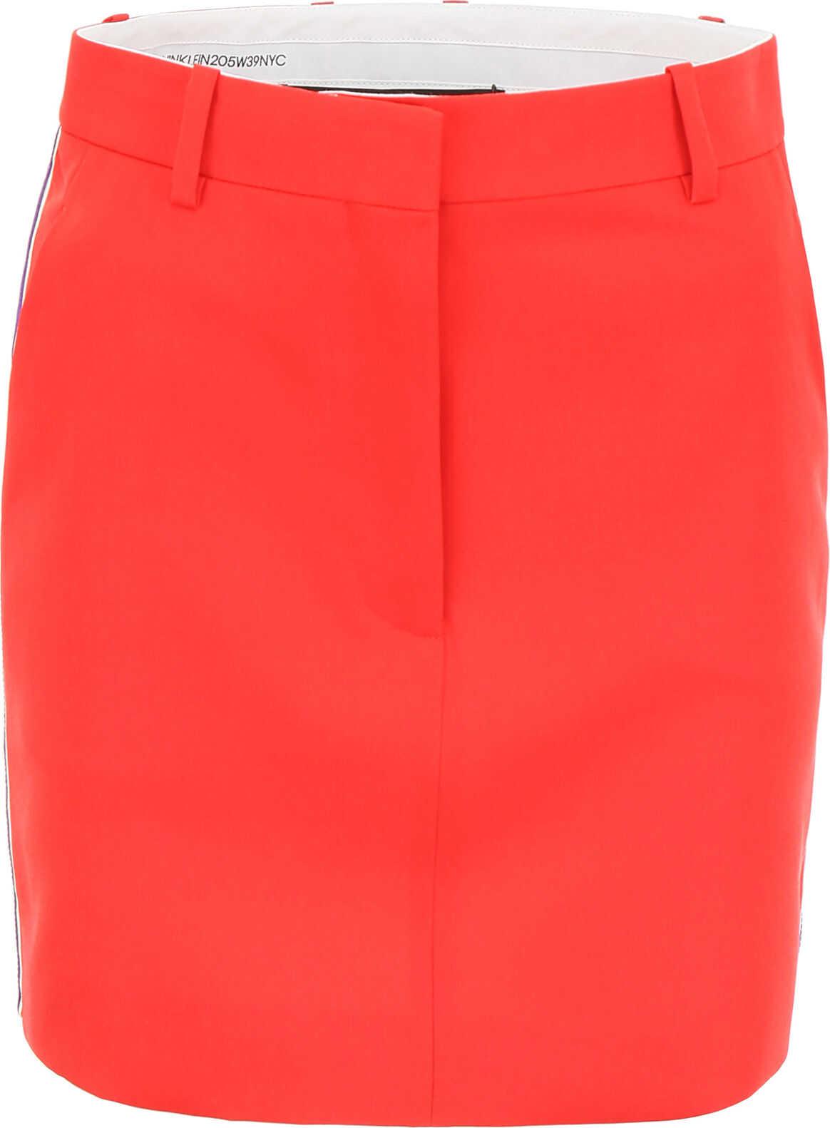 Calvin Klein 205W39NYC Mini Skirt RED