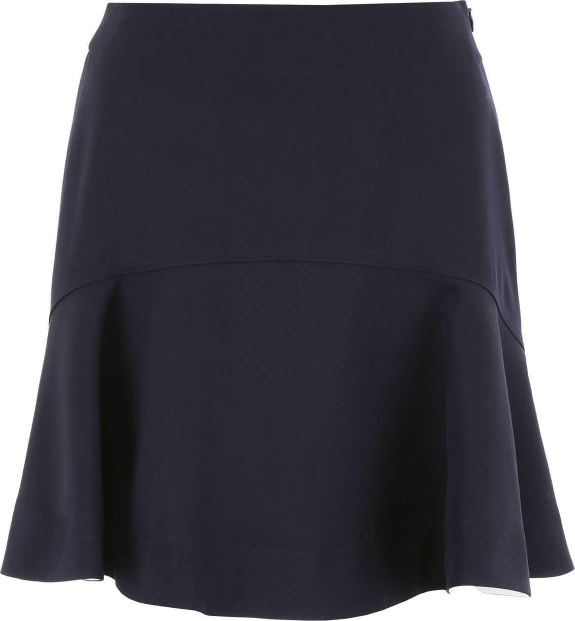 Calvin Klein 205W39NYC Mini Skirt NAVY