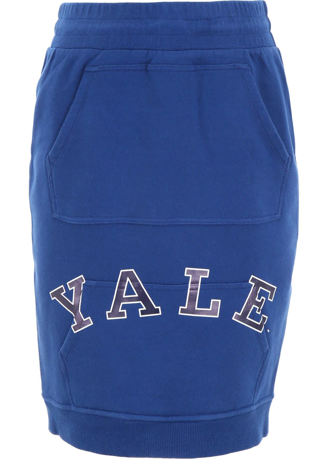 Calvin Klein 205W39NYC Yale Jersey Skirt YALE BLUE