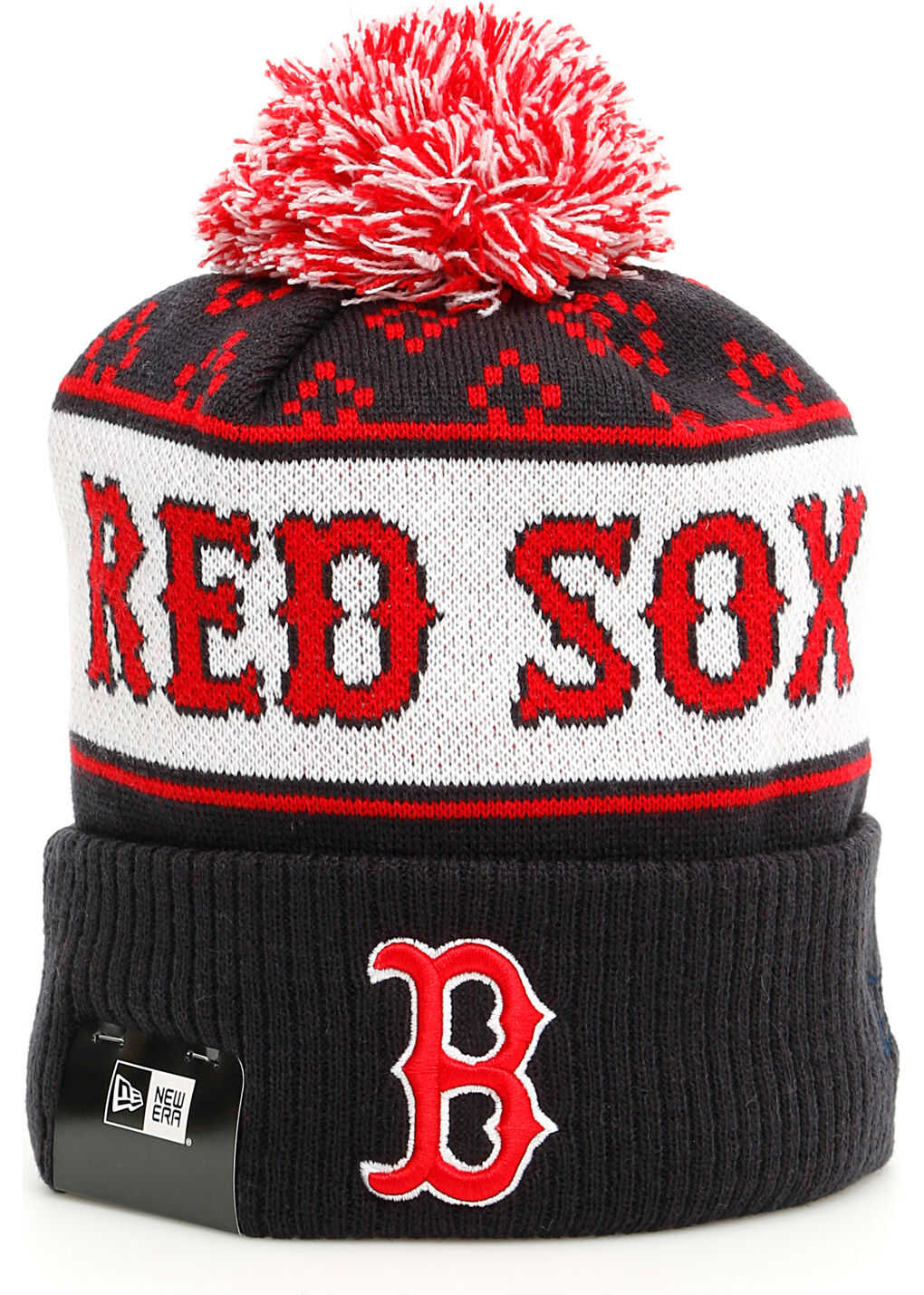 Red Sox Pom Pon Hat thumbnail