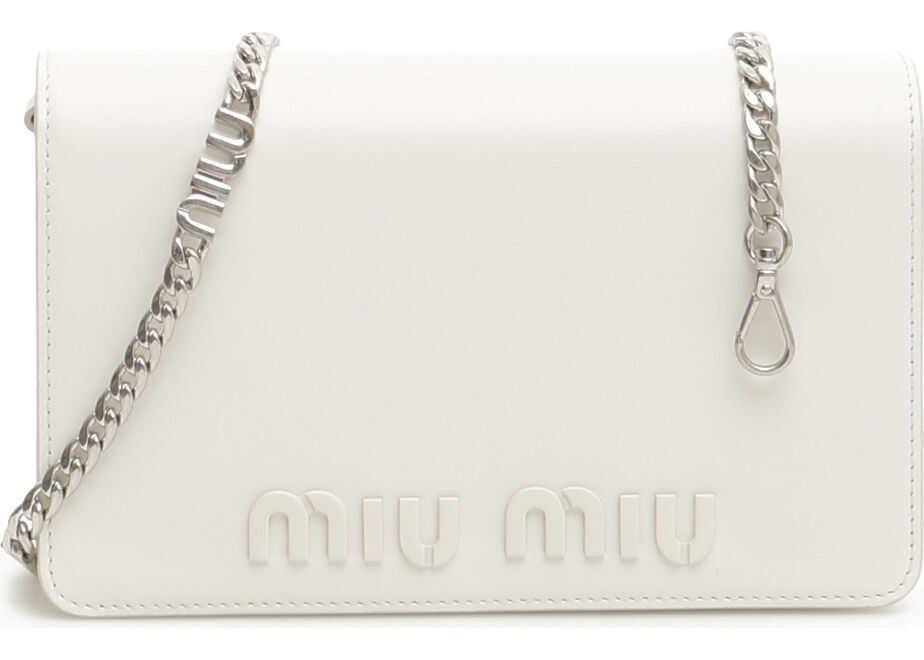 Miu Miu Bag With Miu Chain BIANCO