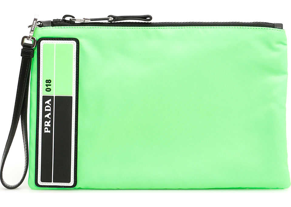 Flat Pouch With Wristlet thumbnail