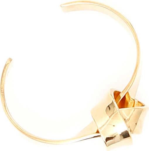 Céline Knot Brass Bracelet GOLD