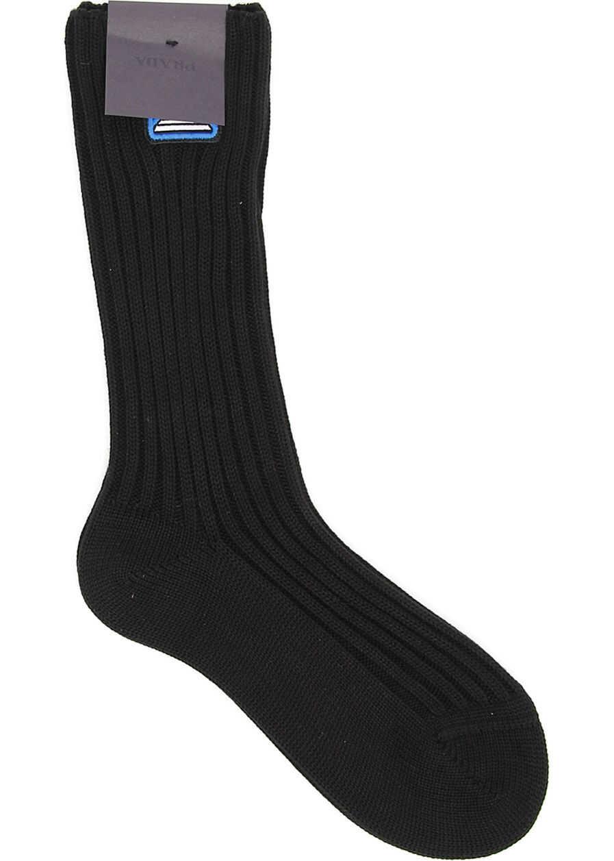 Medium Socks With Logo Patch thumbnail