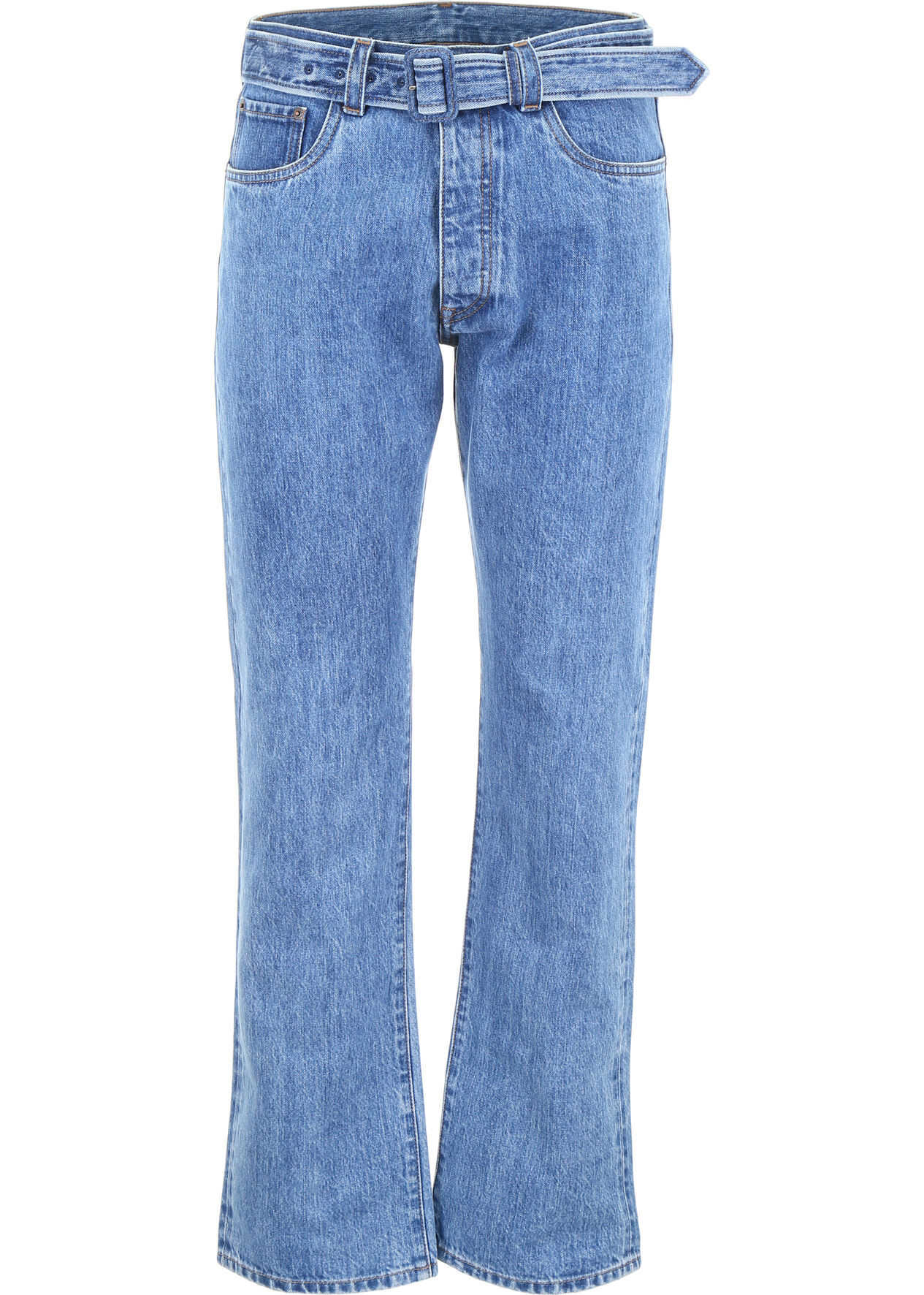 Jeans With Triangle Logo thumbnail