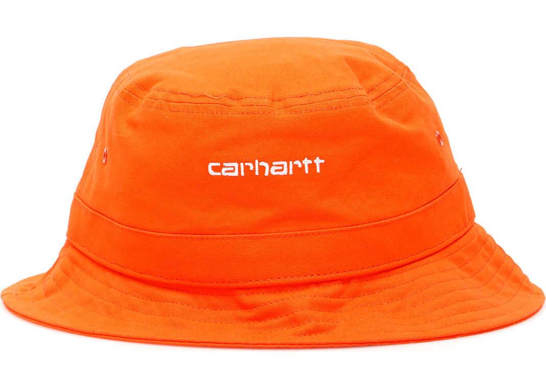 Carhartt Script Bucket Hat PEPPER WHITE