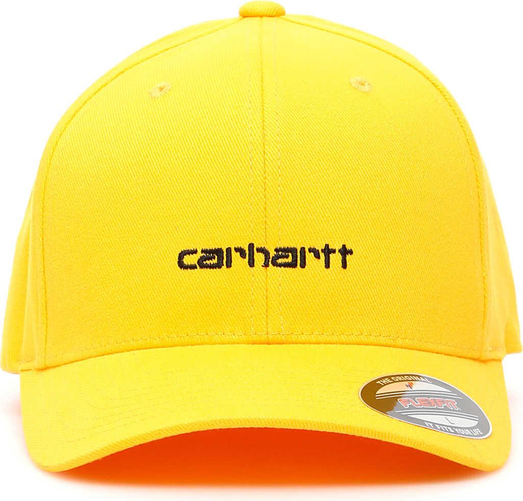 Carhartt Script Bucket Baseball Cap PRIMULA BLACK
