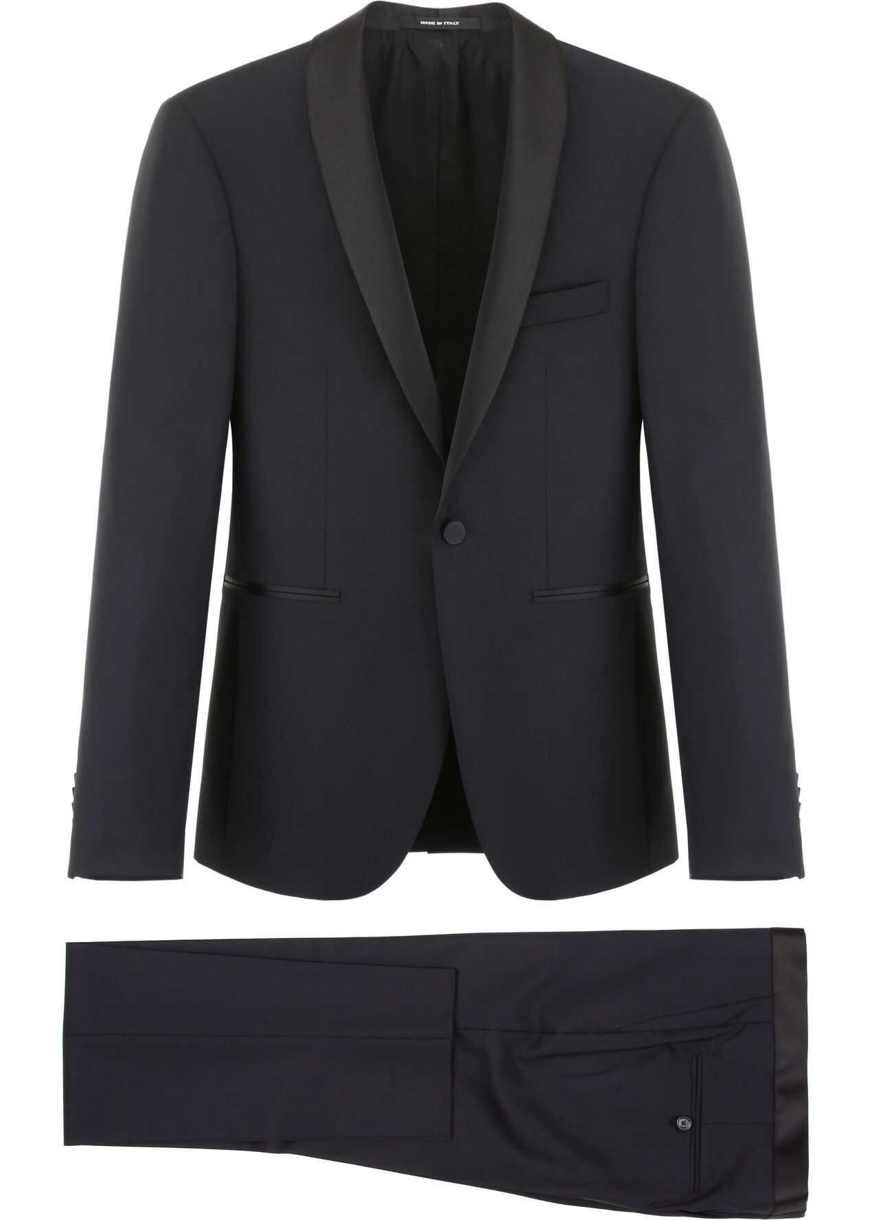 Tagliatore Two-Piece Suit BLACK