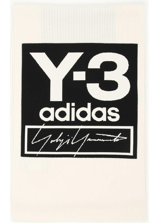 Y-3 Logo Scarf ECRU