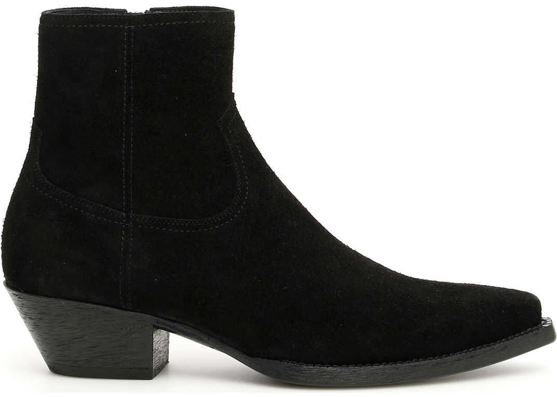 Saint Laurent Lukas 40 Boots NERO