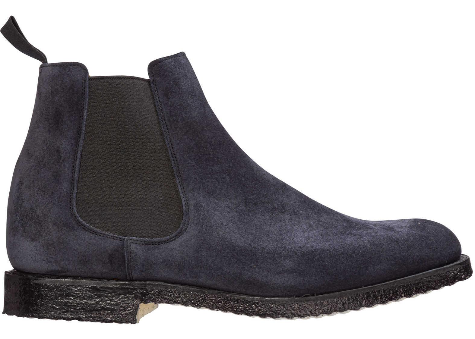 Church's Boots Greenock Blue