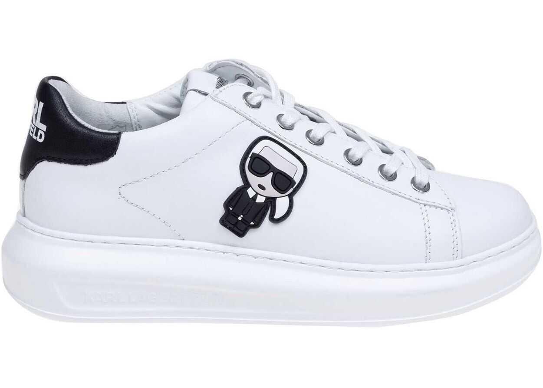 Karl Lagerfeld Karl Ikonic Kapri Sneakers In White White