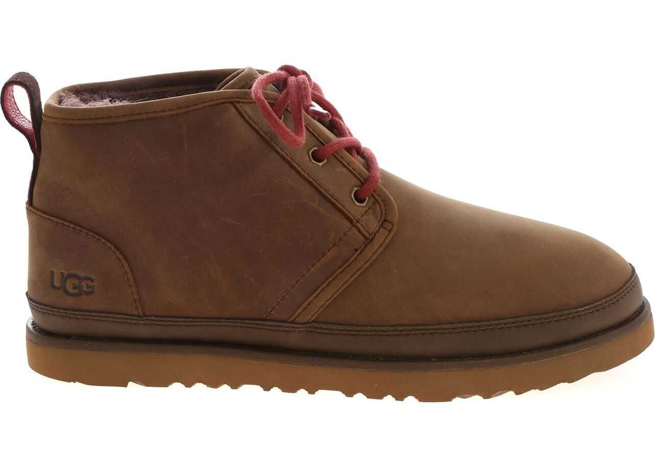 Neumel Desert Boots In Brown thumbnail