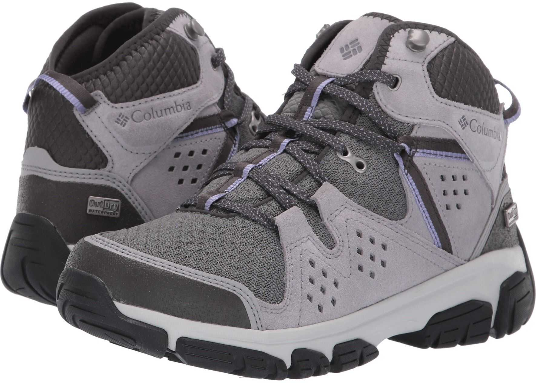 Columbia Isoterra™ Mid Outdry™ TI Grey Steel/Fairy Tale